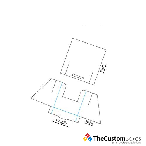 Brochure-Display-Holder-Template