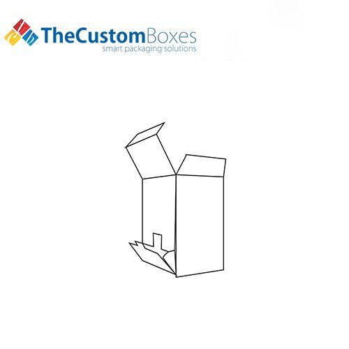 Flip-Out-Open-Dispenser-Box-template