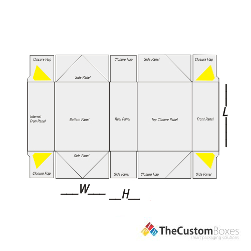 six-corner-flat-view-template