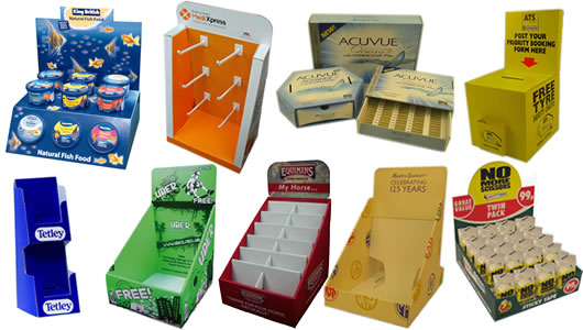 Counter Top Display Boxes Exhibit The Products in a Very Noticeable and Clear Way