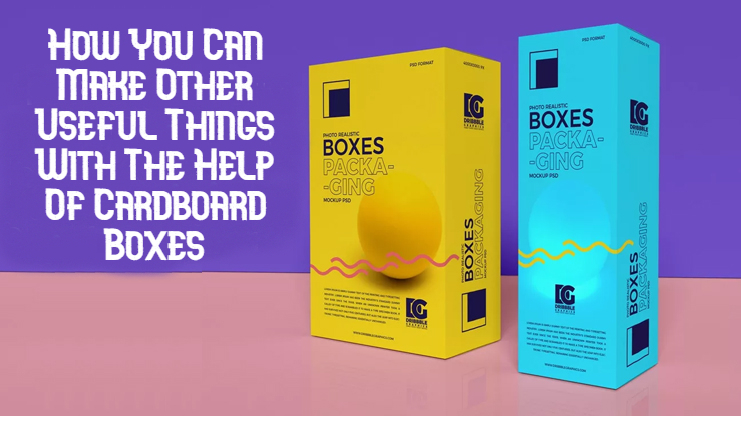 how you can make other useful things with the help of cardboard boxes