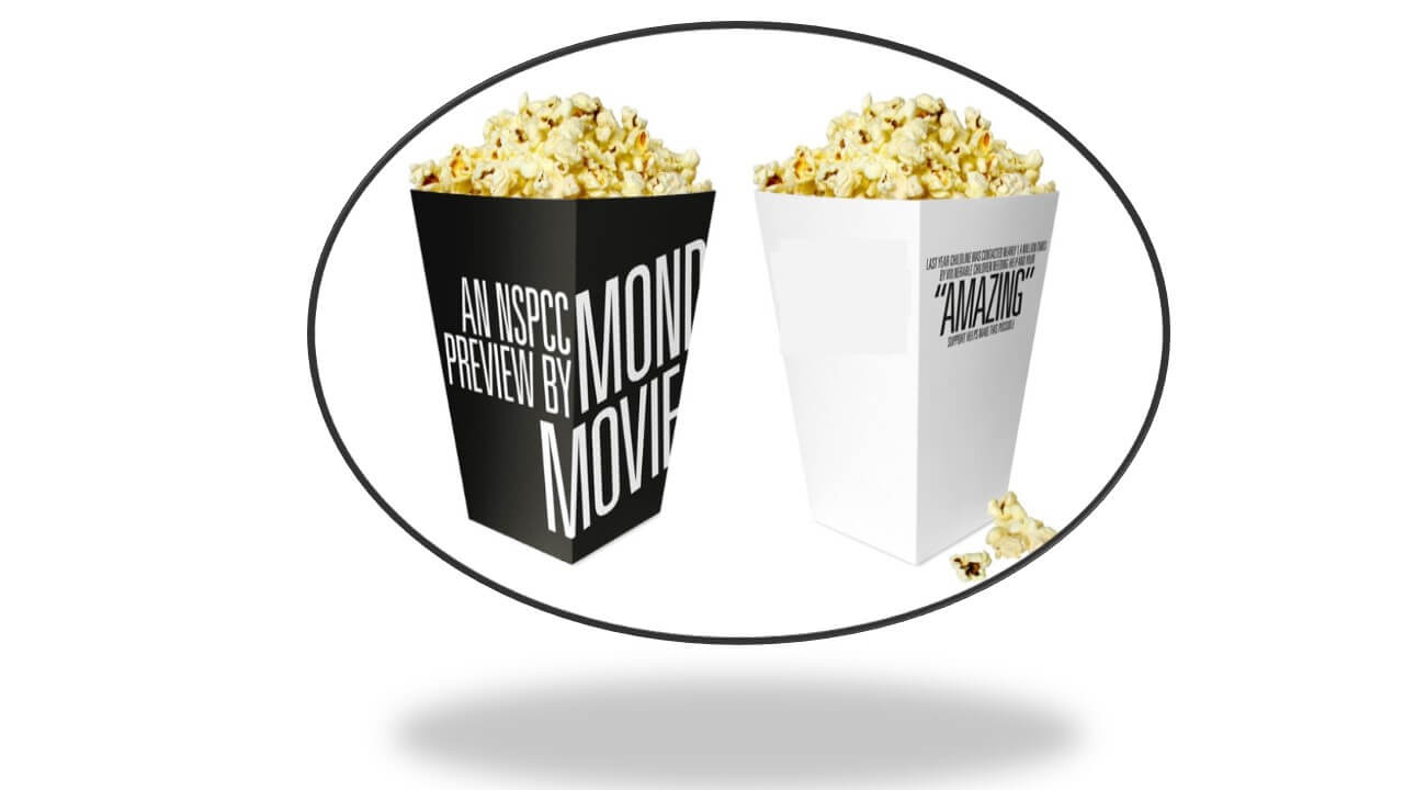 Popcorn Boxes - Adding a Personal Touch