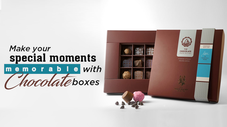 Make your special moments memorable with chocolate boxes