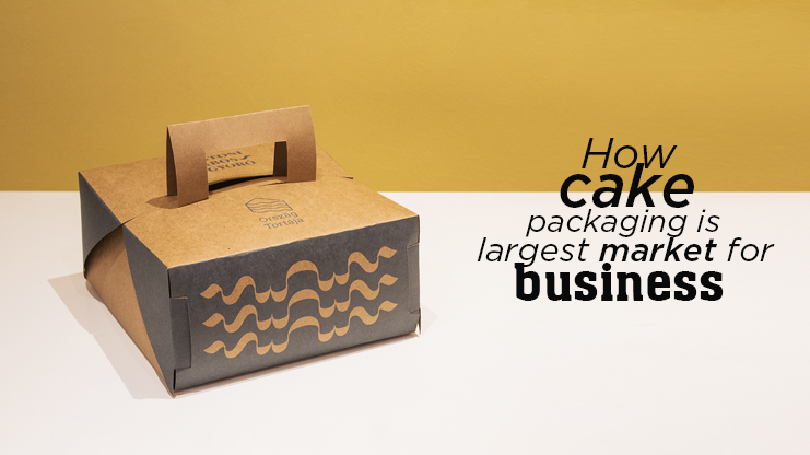 How cake packaging is largest market for business