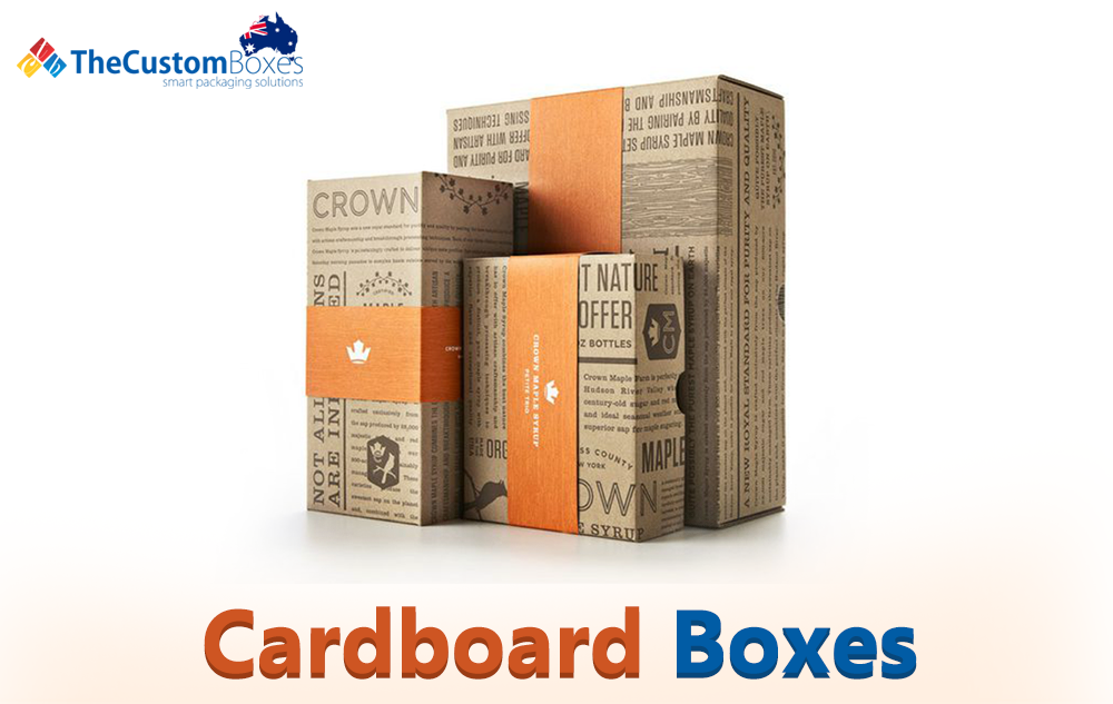 Custom Cardboard Boxes for Packaging
