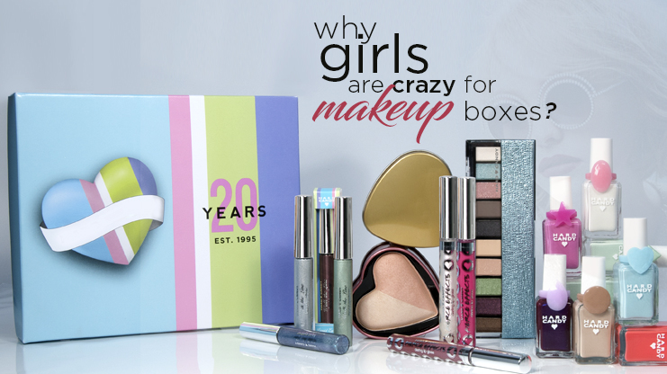 Why girls are crazy for makeup boxes