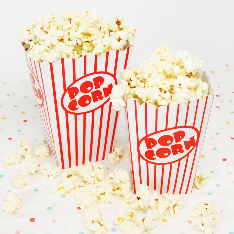 Hit A Home Run With Popcorn Boxes At Your Baseball Theme Party