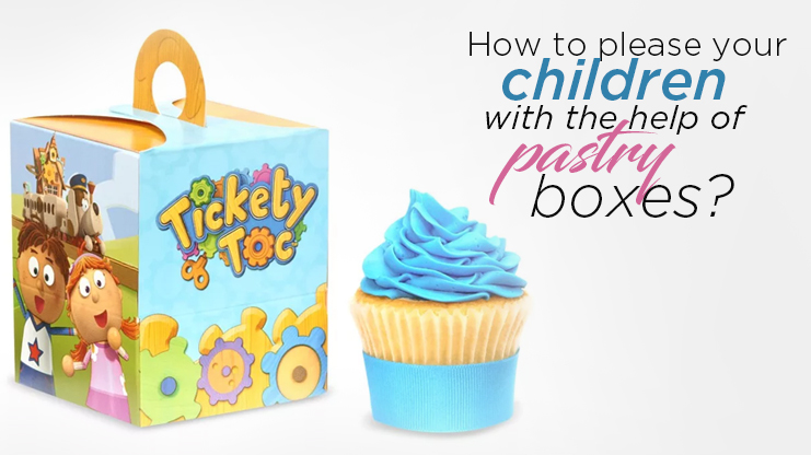 How to please your children with the help of pastry boxes