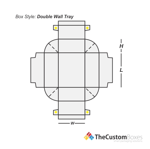 double-wall-tray-flat-view-template