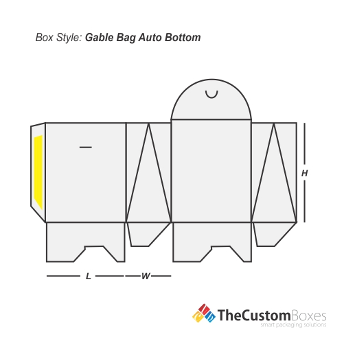 Gable Bag Auto Bottom | Custom Gable Auto Bottom Packaging