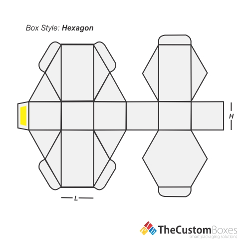hexagon-flat-view-template