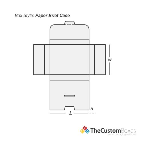 paper-briefcase-flat-view-template