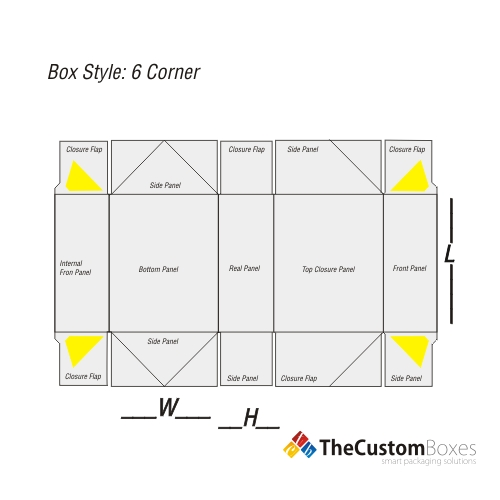 regular-six-corner-flat-view-template